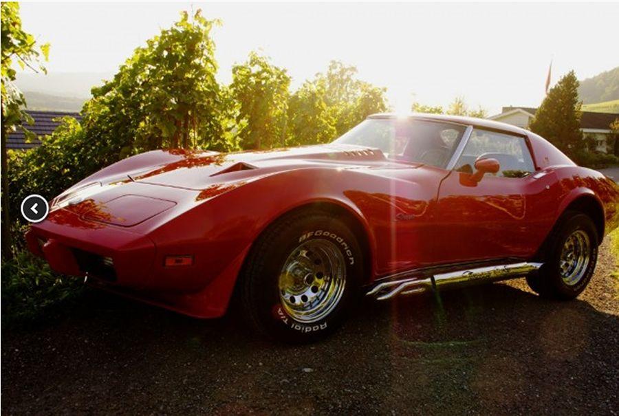 chevrolet corvette c3 1975 oldtimer inserate verkaufen. Black Bedroom Furniture Sets. Home Design Ideas